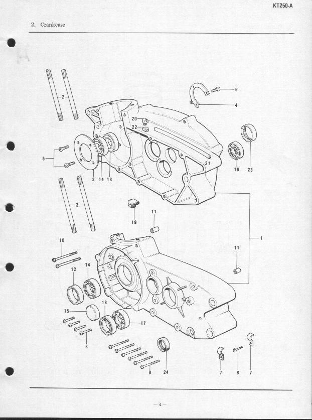 Kawasaki Manual Parts