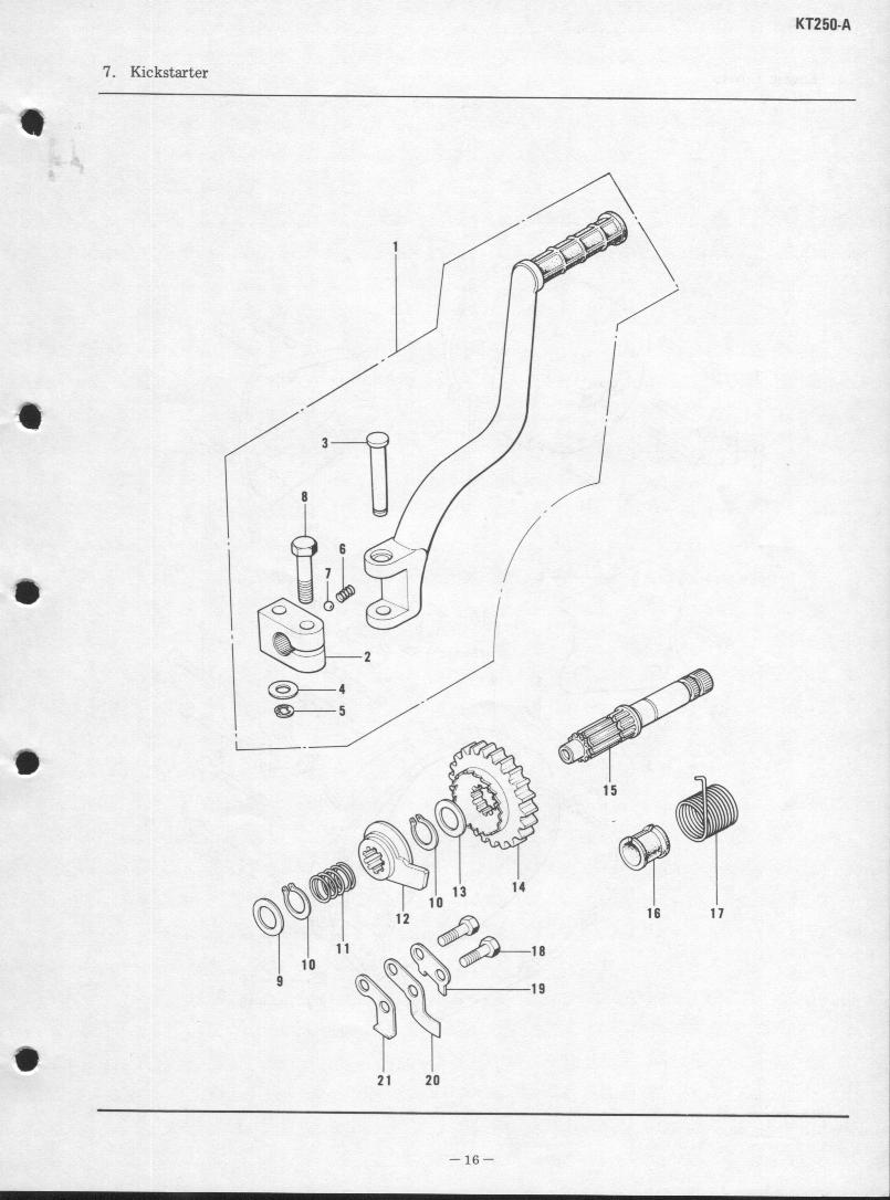 "<fONT COLOR=""RED"">KAWASAKI KT 250 PARTS MANUAL</FONT>"