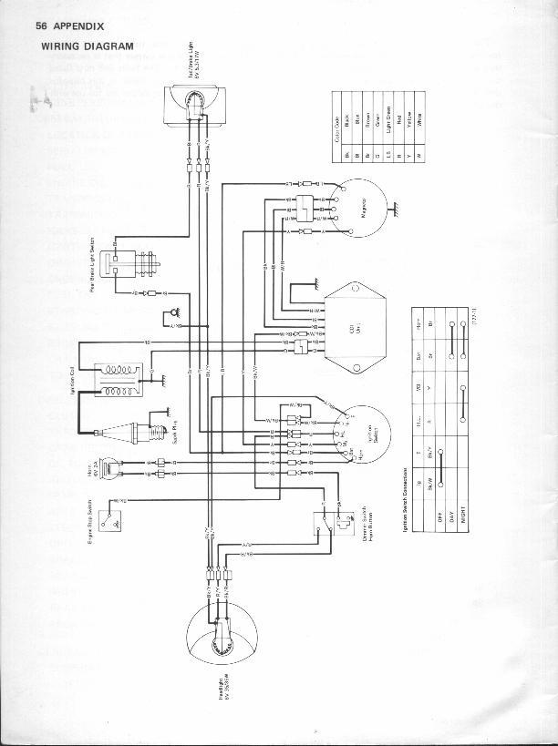 1975 kawasaki kt250 wiring schmatic wiring diagram u2022 rh msblog co Kawasaki H2 1975 Kawasaki Trials Bike